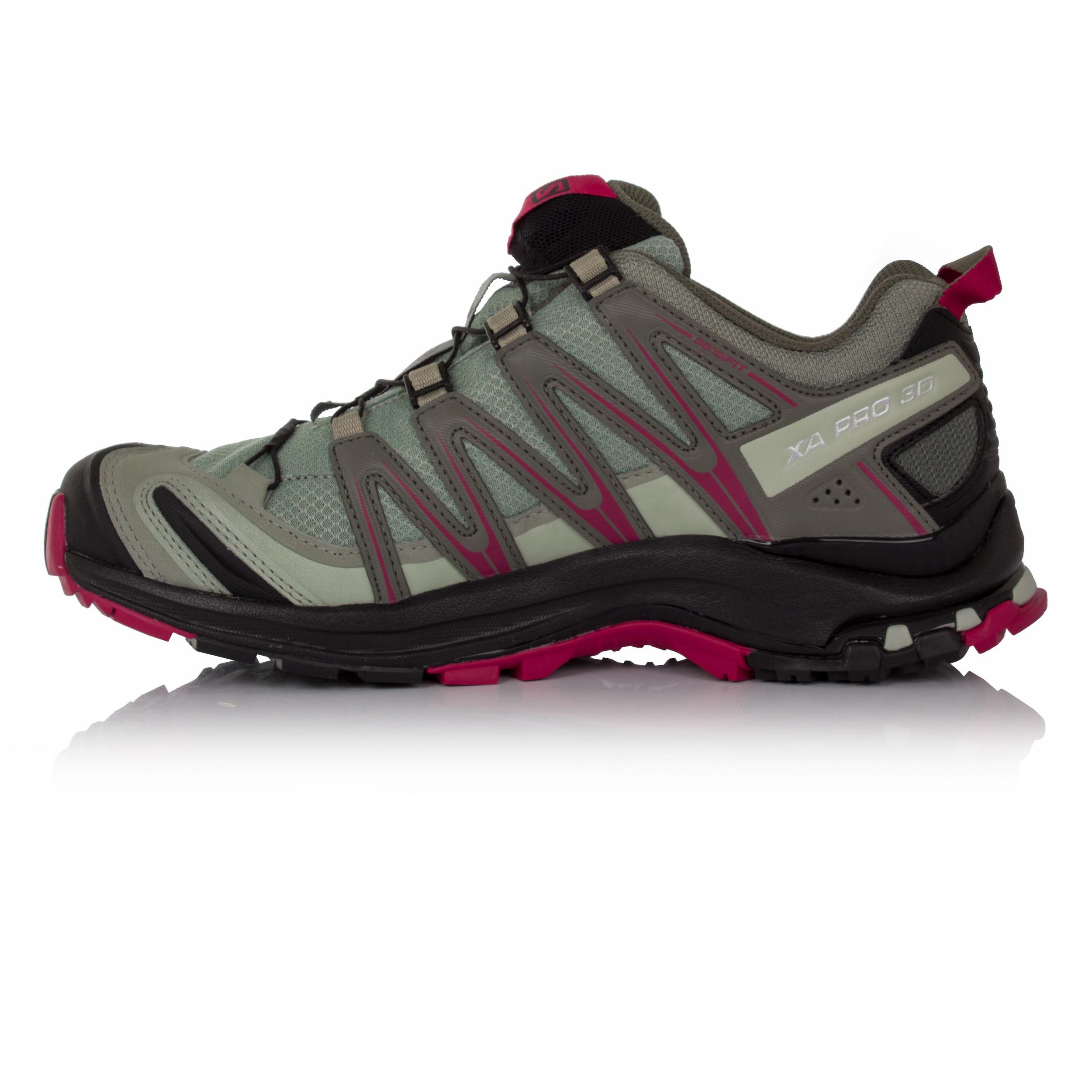 Salomon XA Pro 3D GTX Damen Jogging Trail Laufschuhe Jogging Damen Turnschuhe Sportschuhe Grau d5ebb6