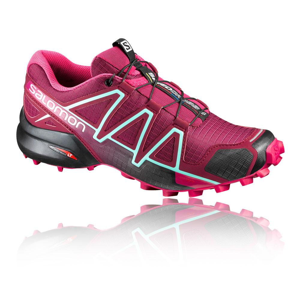 Salomon Mujer Rosa Correr Speedcross 4 Sendero Correr Rosa Deporte  Zapatos  Zapatillas ae5b8e