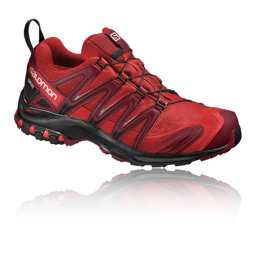 salomon xa pro 3d gtx mens red waterproof outdoors walking hiking shoes ebay. Black Bedroom Furniture Sets. Home Design Ideas