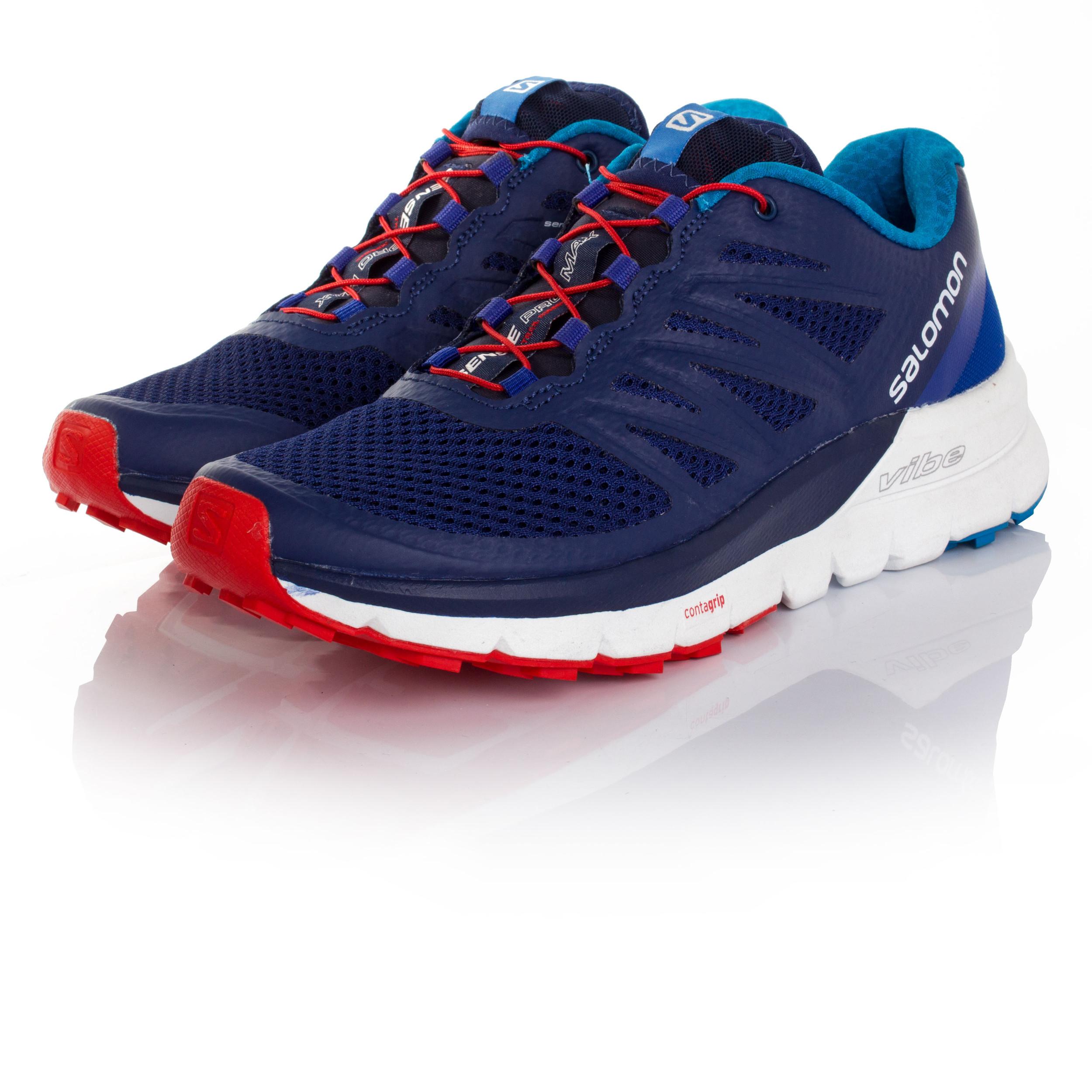 salomon sense pro max mens blue trail running sports shoes trainers pumps ebay. Black Bedroom Furniture Sets. Home Design Ideas