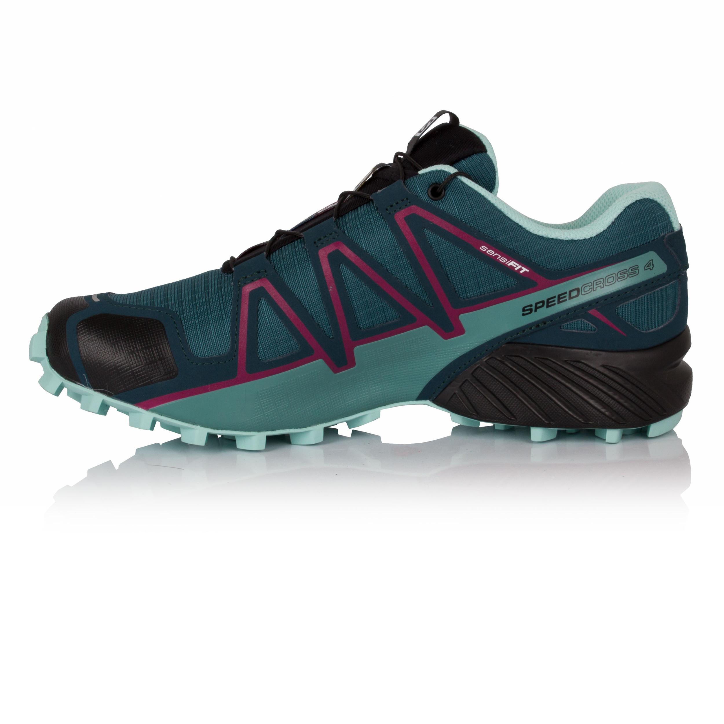 Pink Womens Sports Shoes Speedcross Salomon Running Cs Trail 4 Blue U7Iwqp