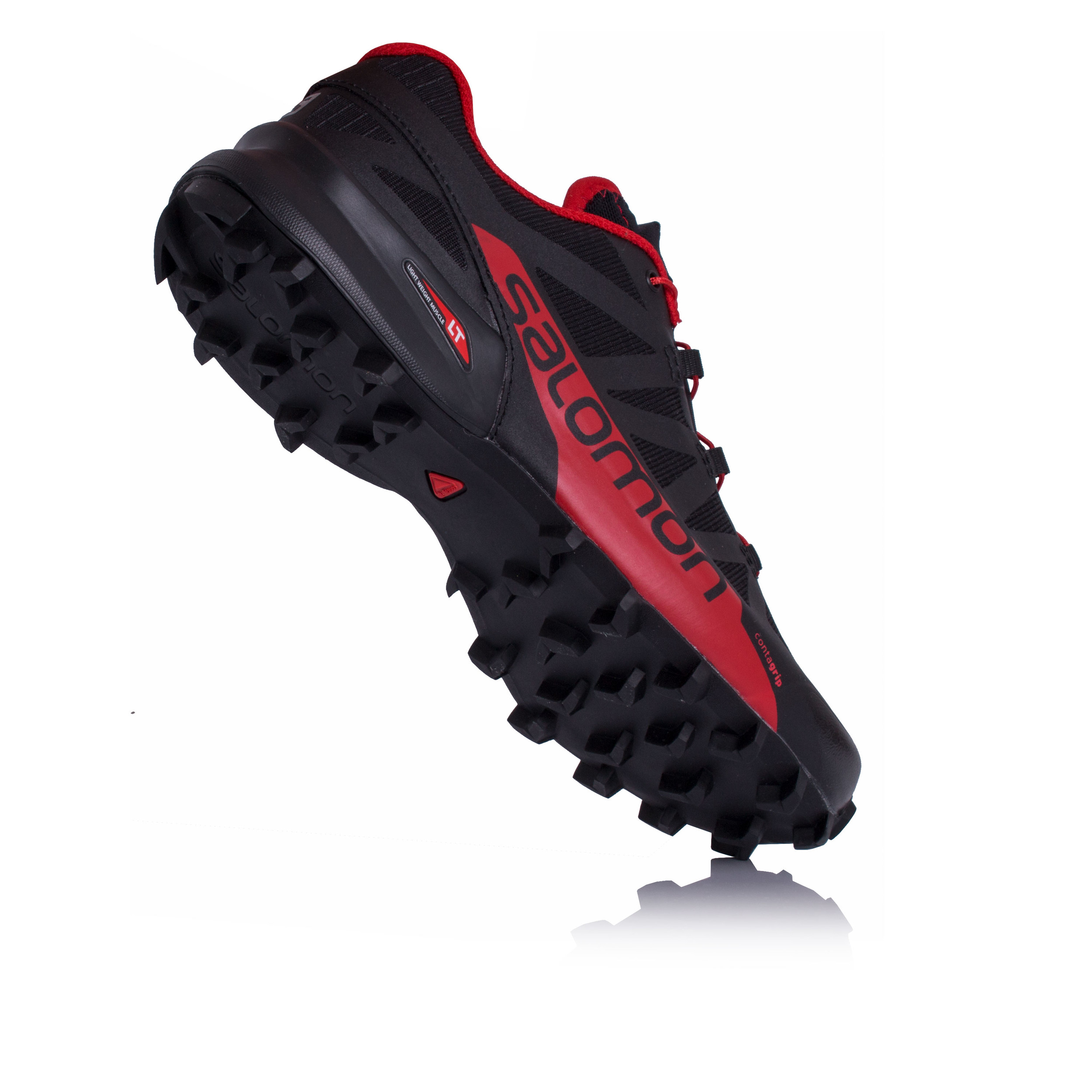 huge selection of 7f733 7bf69 Salomon-Speedcross-Pro-2-Homme-Noir-Rouge-Trail-