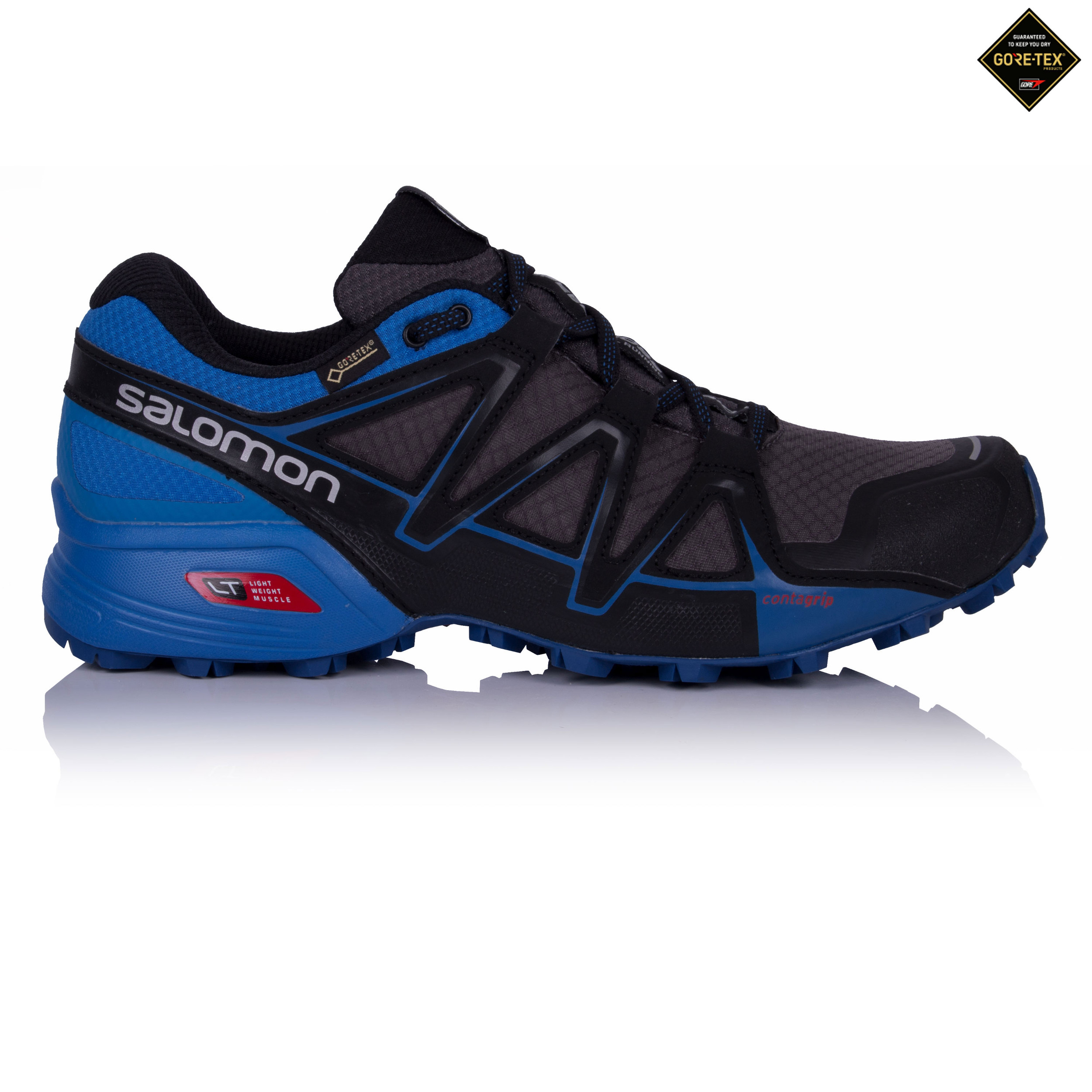 652894570e97 Salomon Mens Speedcross Vario 2 GTX Trail Running Sports Shoes Trainers  Sneakers