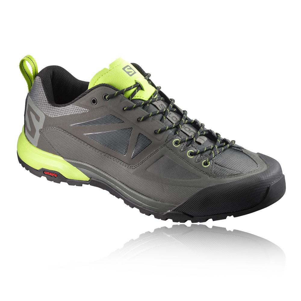 Salomon Herren Grau X Alp SPRY Outdoorschuhe Wanderschuhe Trekking Schuhe