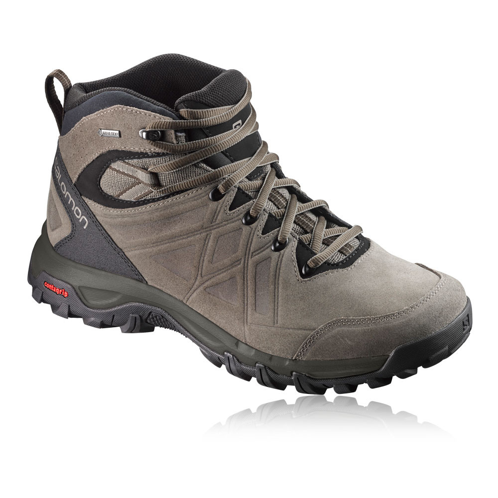 Leather Gore Tex Walking Shoe