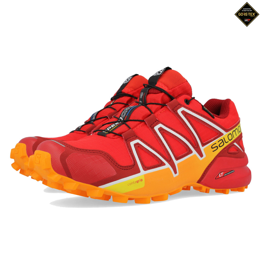 5b5f4ec32de8 Salomon SPEEDCROSS 4 GORE-TEX Trail Running Shoes - 43% Off ...