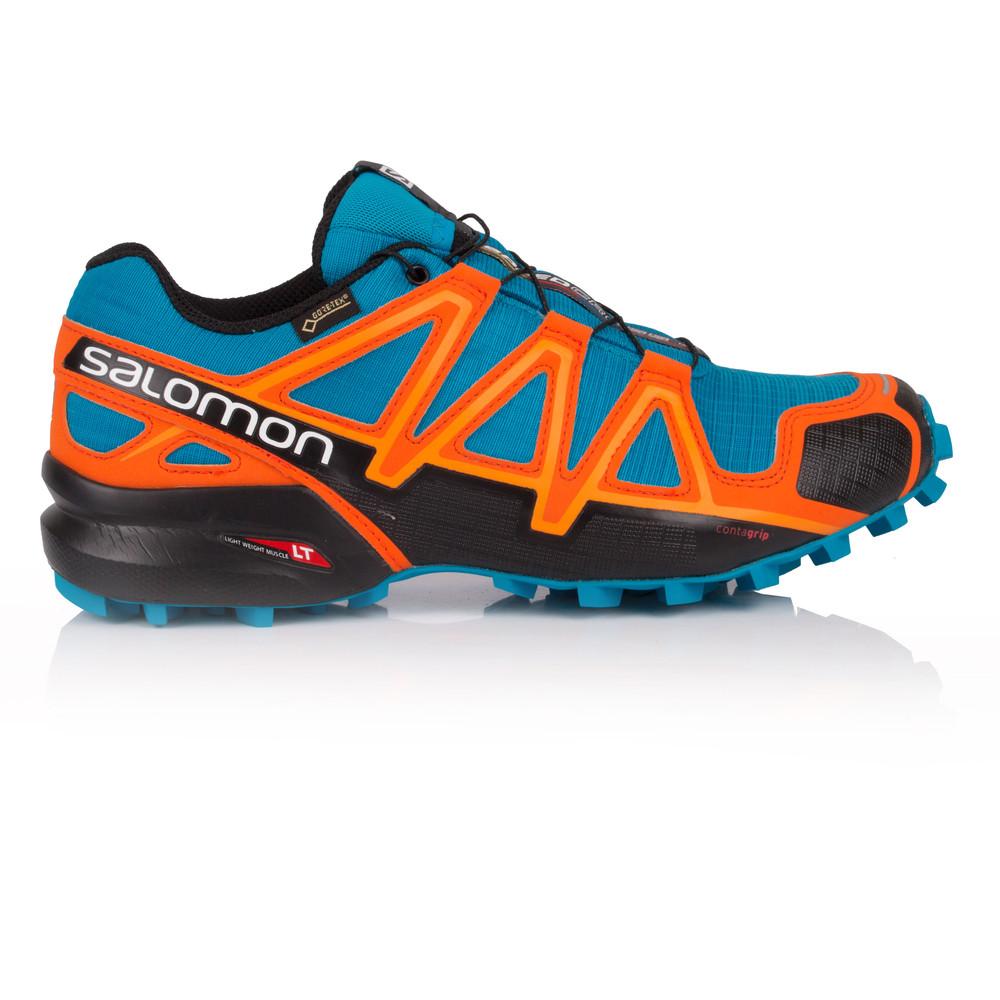 SALOMON Speedcross 4 Gore TEX Trail Running Shoes SS19 11 Green