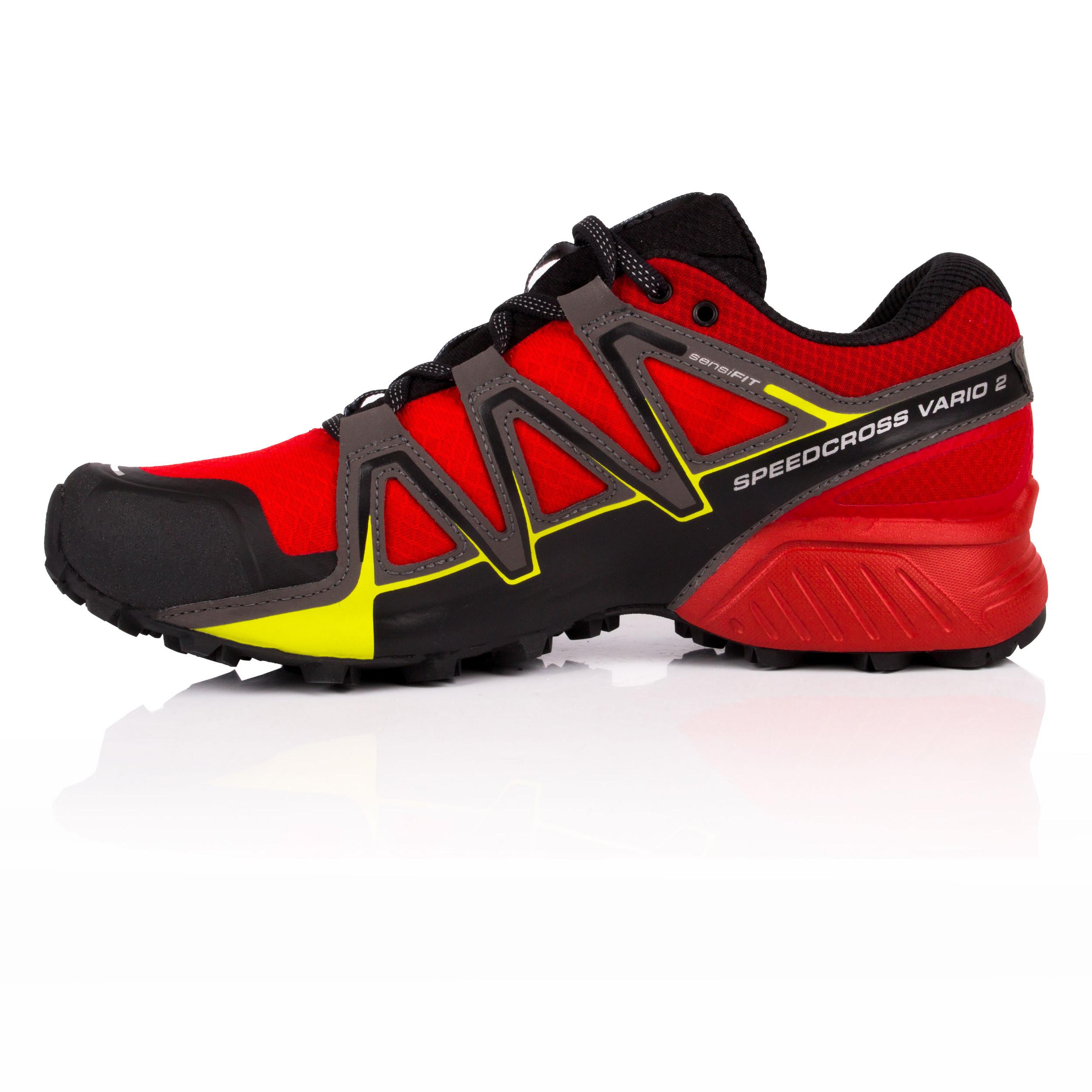 Salomon Mens Speedcross Vario 2 Gore-Tex Trail Running