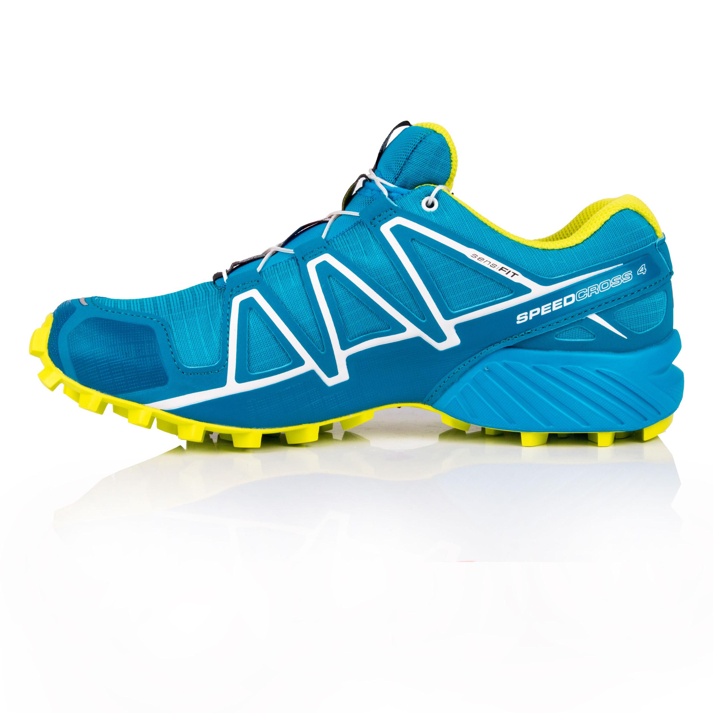 SALOMON UOMO SPEEDCROSS 4 Trail Scarpe Da Corsa Ginnastica Sport Sneakers Blu