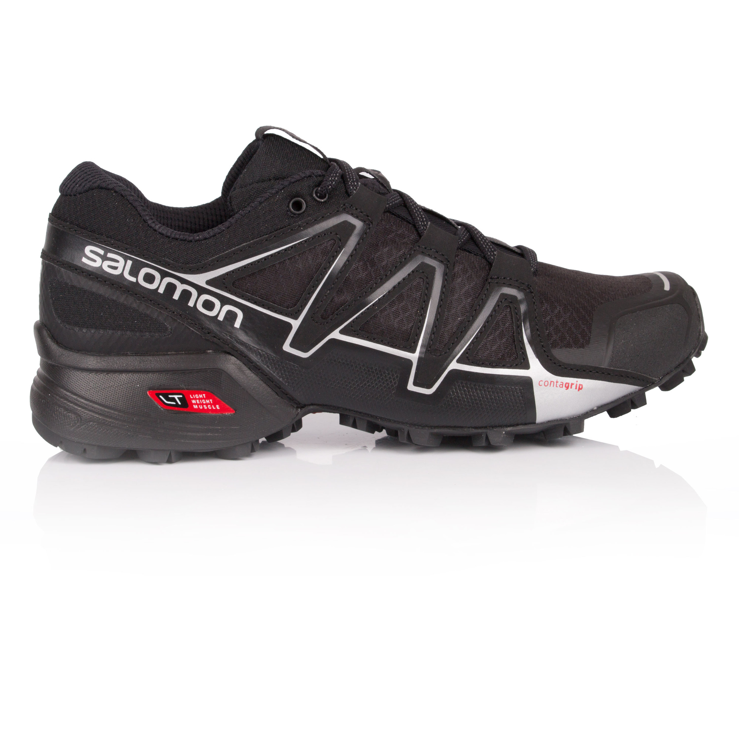 13c80dd006c6 Details about Salomon Mens SPEEDCROSS VARIO 2 trail Running Shoes Trainers  Sneakers Black