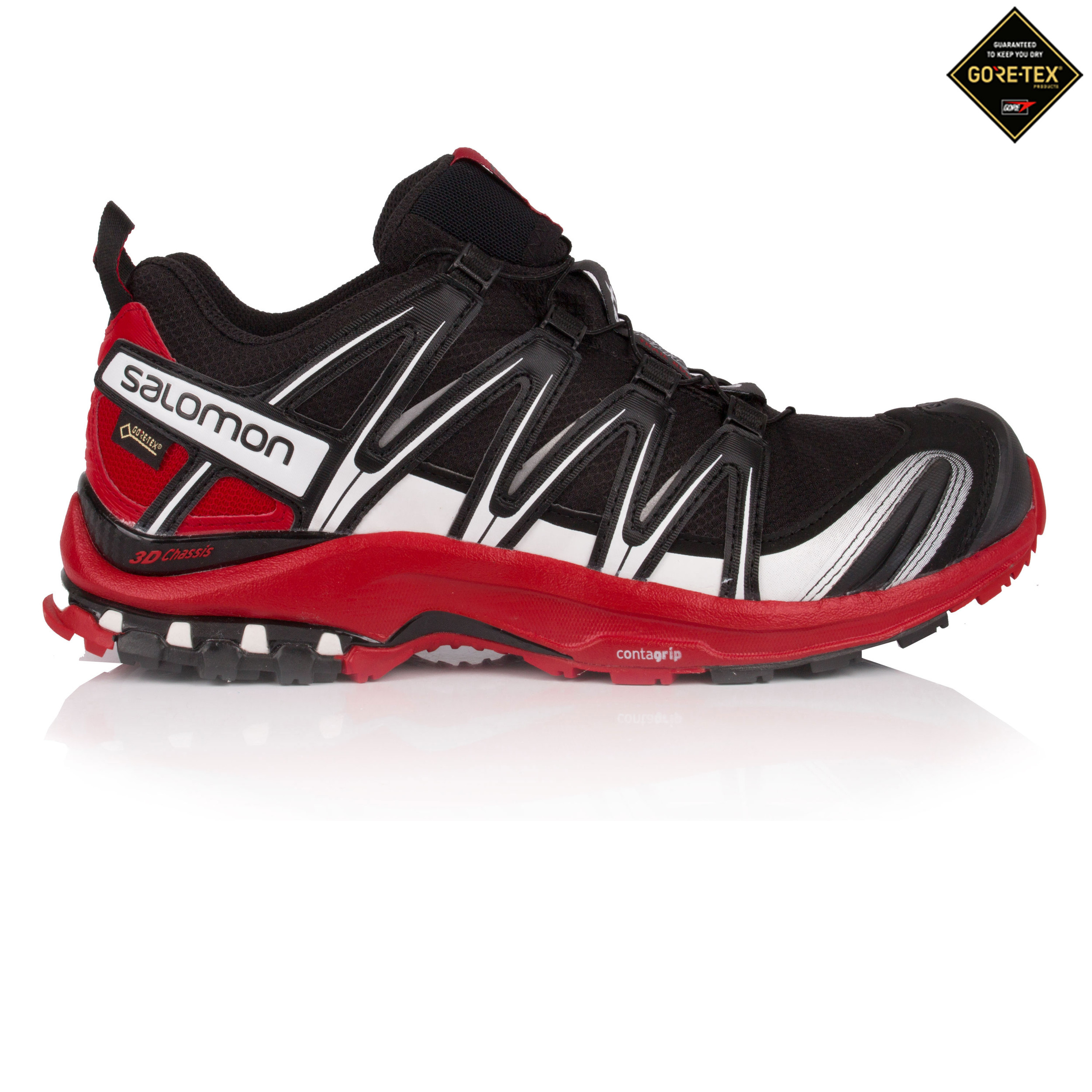 beaaa4dc Details about Salomon Mens XA PRO 3D GTX Trail Running Shoes Trainers  Sneakers Black Sports