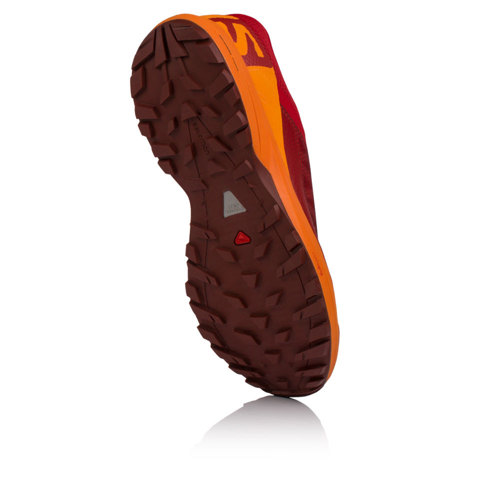 66f8c27733f Salomon Hombre XA ELEVATE Correr Zapatos Zapatillas Naranja Rojo Deporte