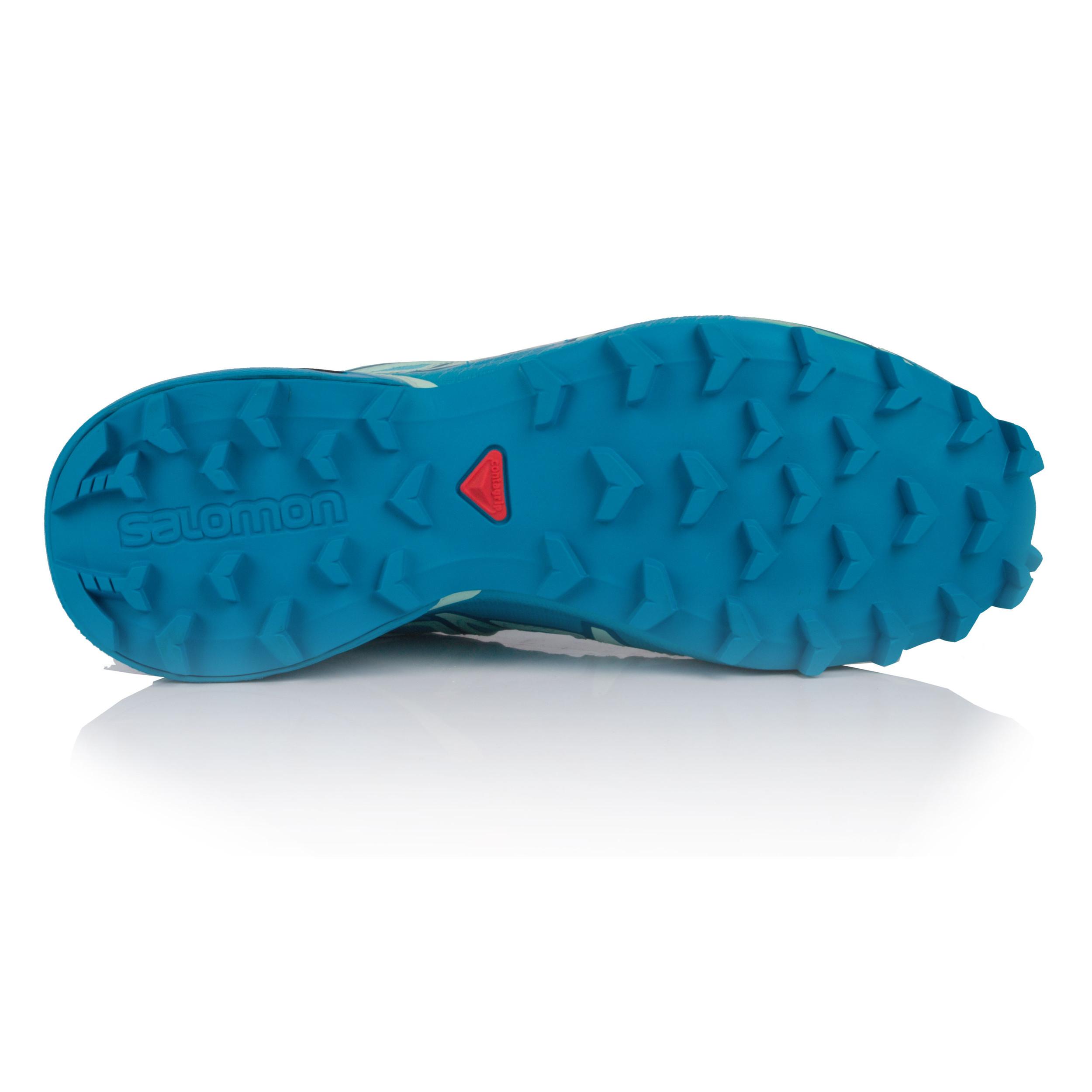 Salomon Damen SPEEDCROSS 4 GORE-TEX GORE-TEX GORE-TEX Trail Jogging Sport Schuhe Laufschuhe Blau 6cc0f9