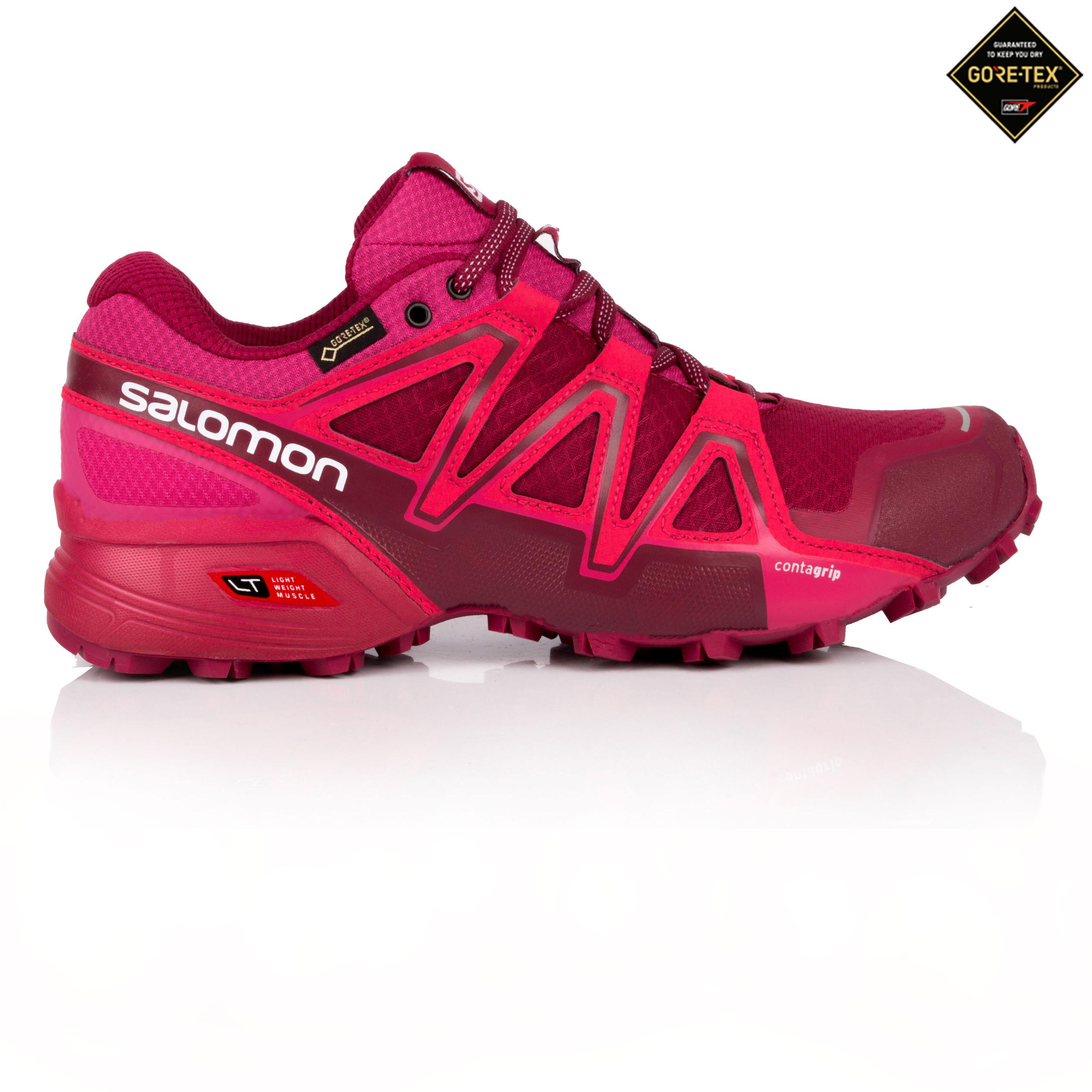 Salomon Donna Speedcross Vario 2 Gore Tex Trail Scarpe Da Corsa Ginnastica  Viola aebfbecf9cc