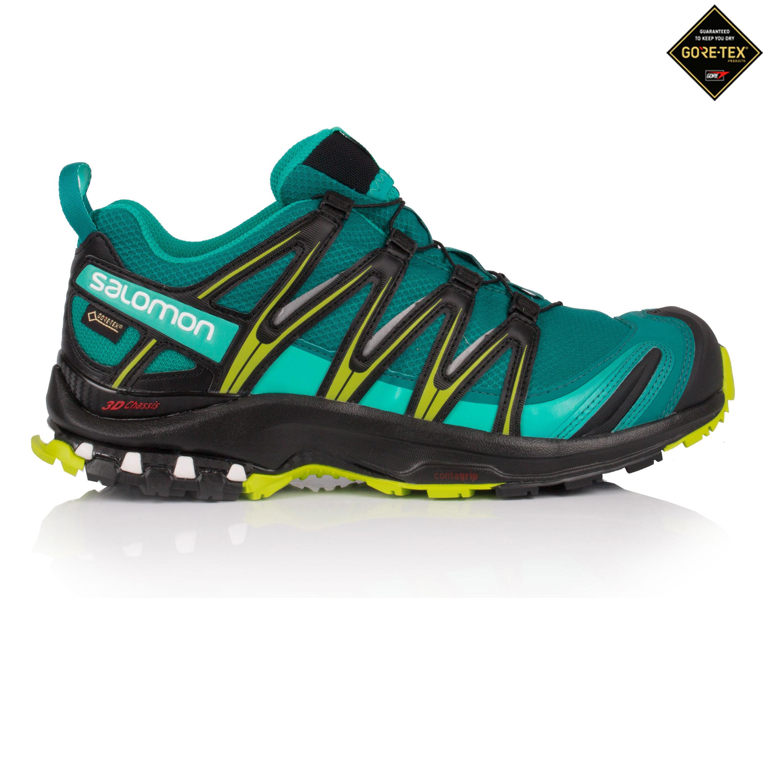 Salomon Damen XA PRO 3D GORE TEX Trail Gr n Jogging Sport Schuhe Laufschuhe