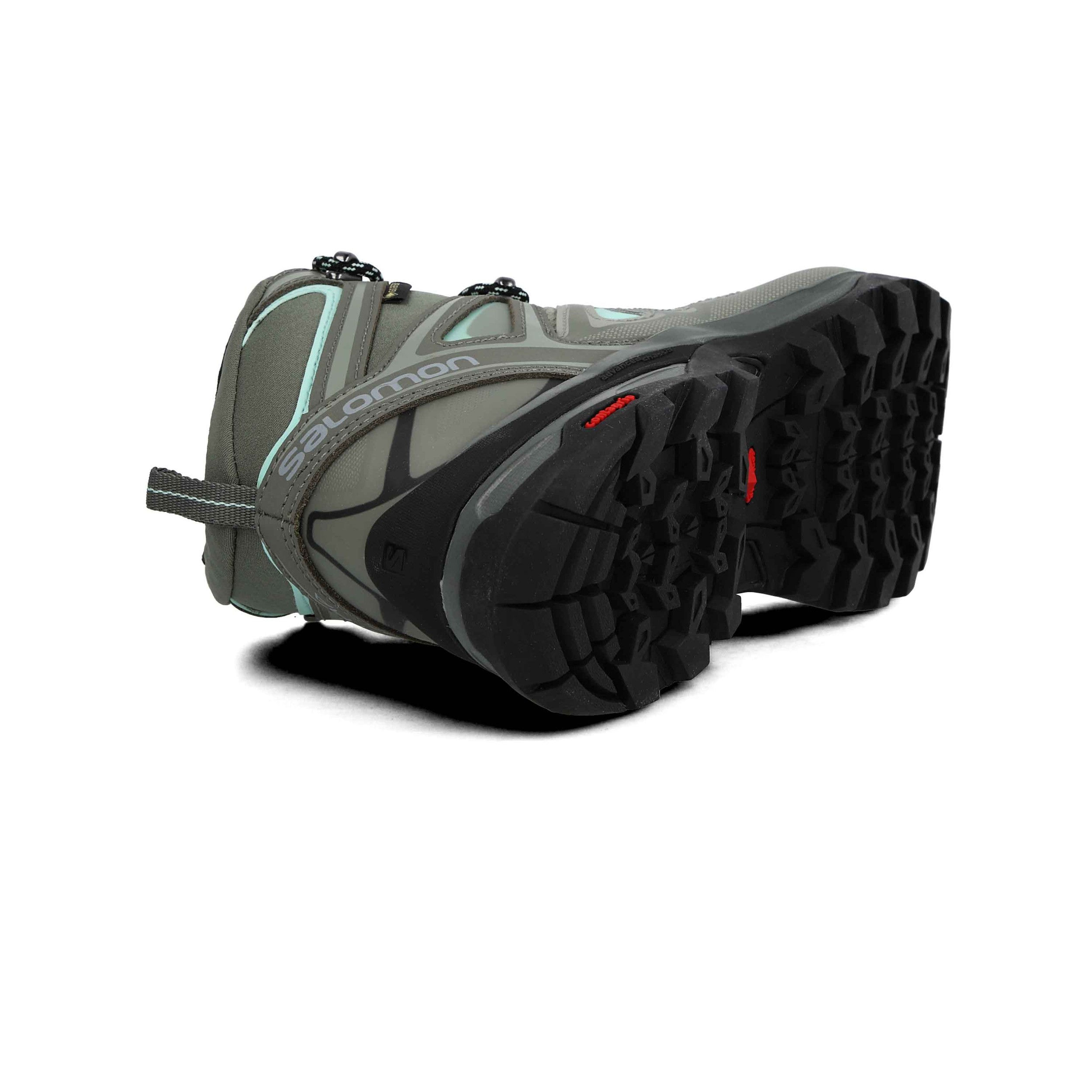 Dettagli su Salomon Uomo X Ultra 3 Mid Gore Tex Scarpe da Trekking Scarponi Verde Sport Grig