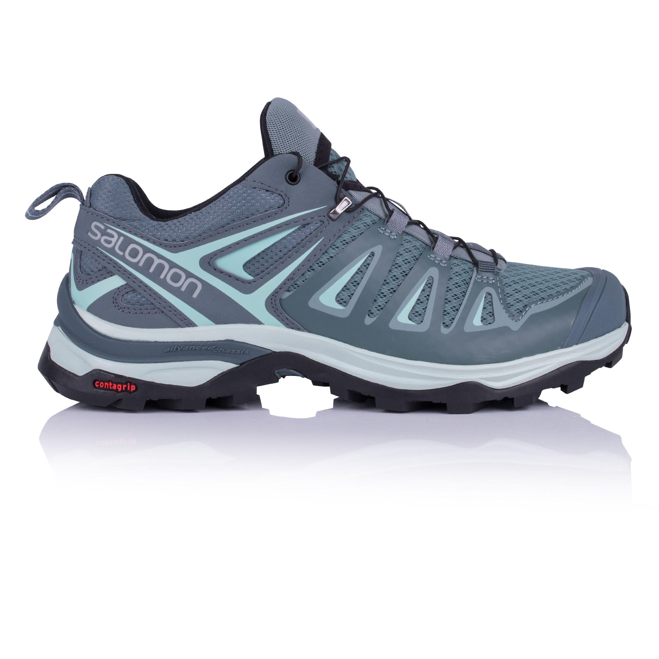 Salomon Damenschuhe X Ultra 3 Walking Schuhe Blau Sports Outdoors Breathable Trainers