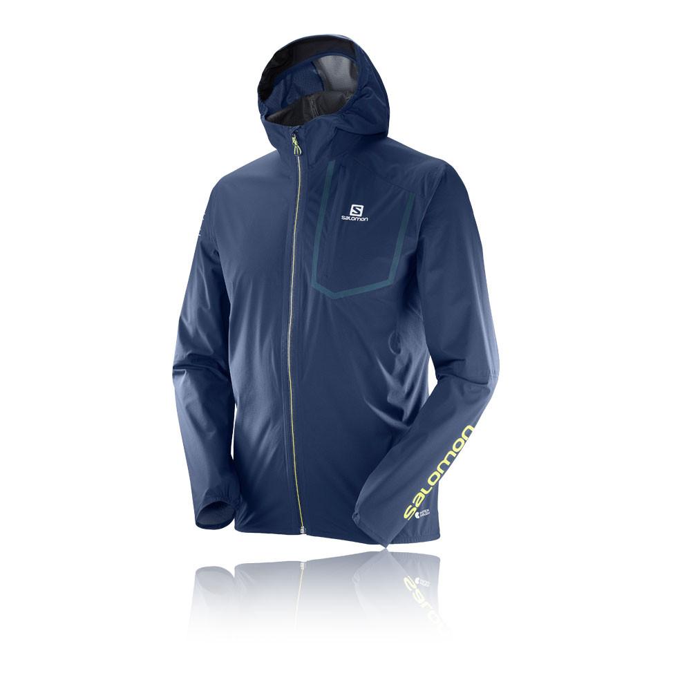 Blue 2019 New Fashion Style Online Salomon Bonatti Pro Waterproof Mens Running Jacket Sporting Goods