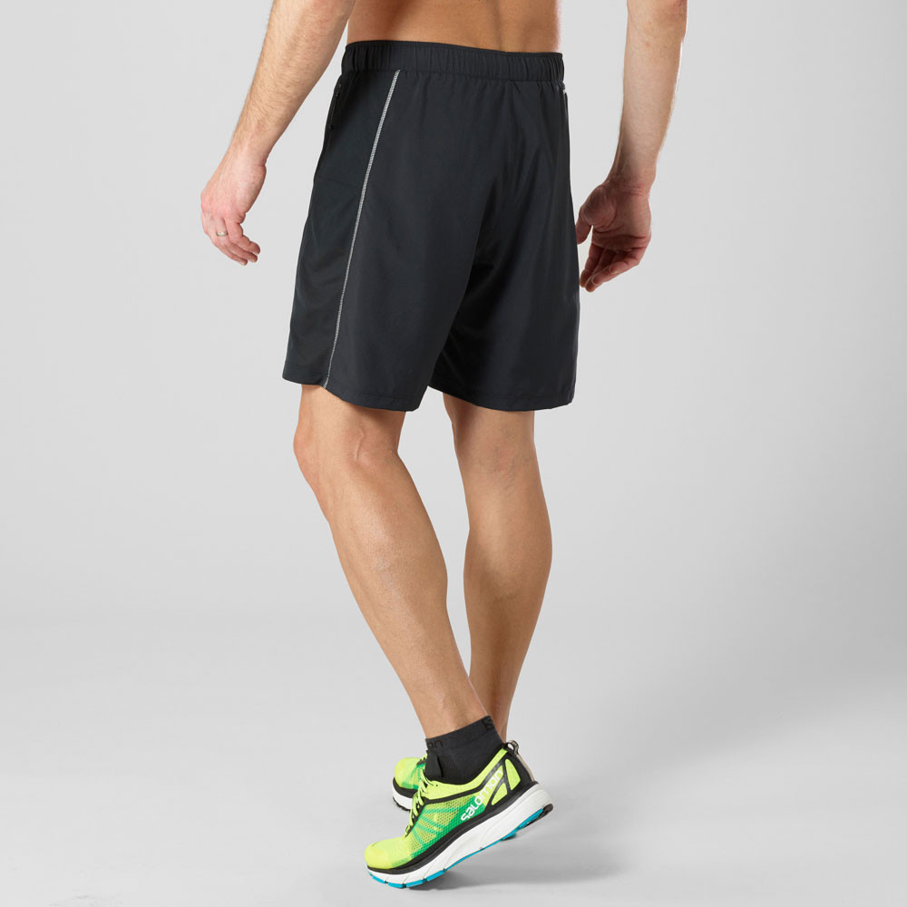 Salomon Pantalones Aw18 Cortos Agile Running 2in1 De zBrxvwzg