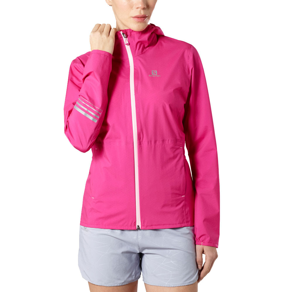Lighting Jacket: Salomon Lightning Waterproof Womens Jacket