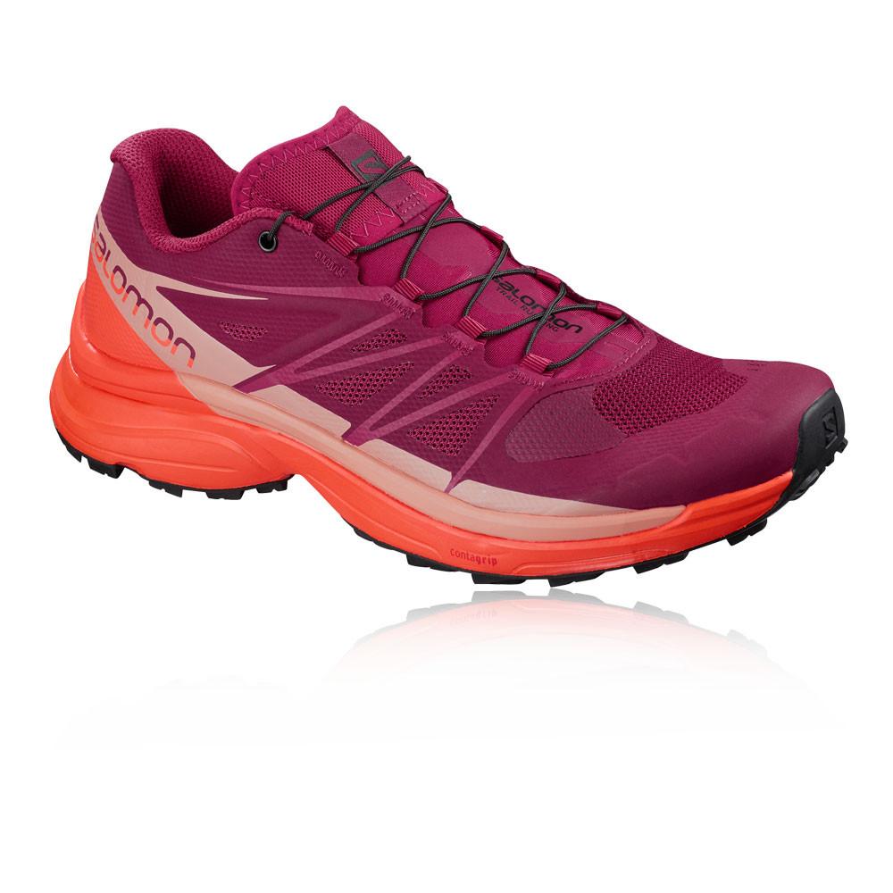 121aa7521be Salomon Wings Pro 3 para mujer trail zapatillas de running - 67 ...