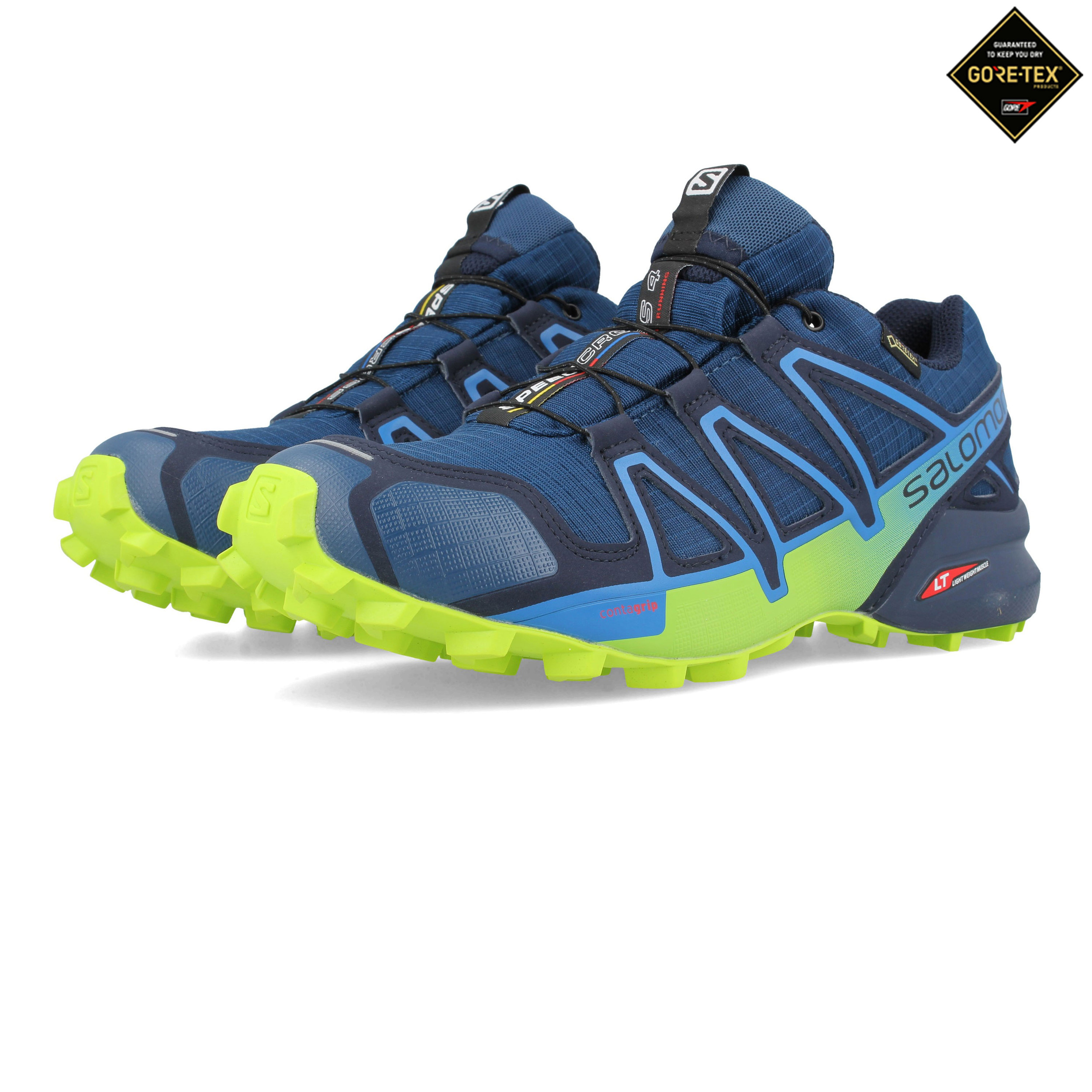 Details Sneakers Speedcross 4 Trainers Green Trail Running Shoes Salomon Gore About Tex Mens TF1clJK