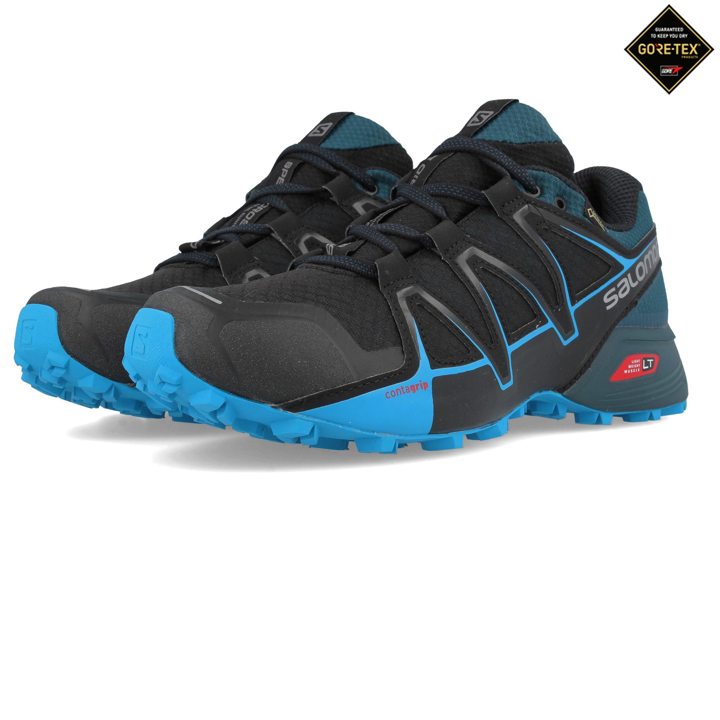 ab7ec1e9ba07 Salomon Hombre Speedcross Vario 2 Gore-tex Sendero Correr Zapatos Zapatillas