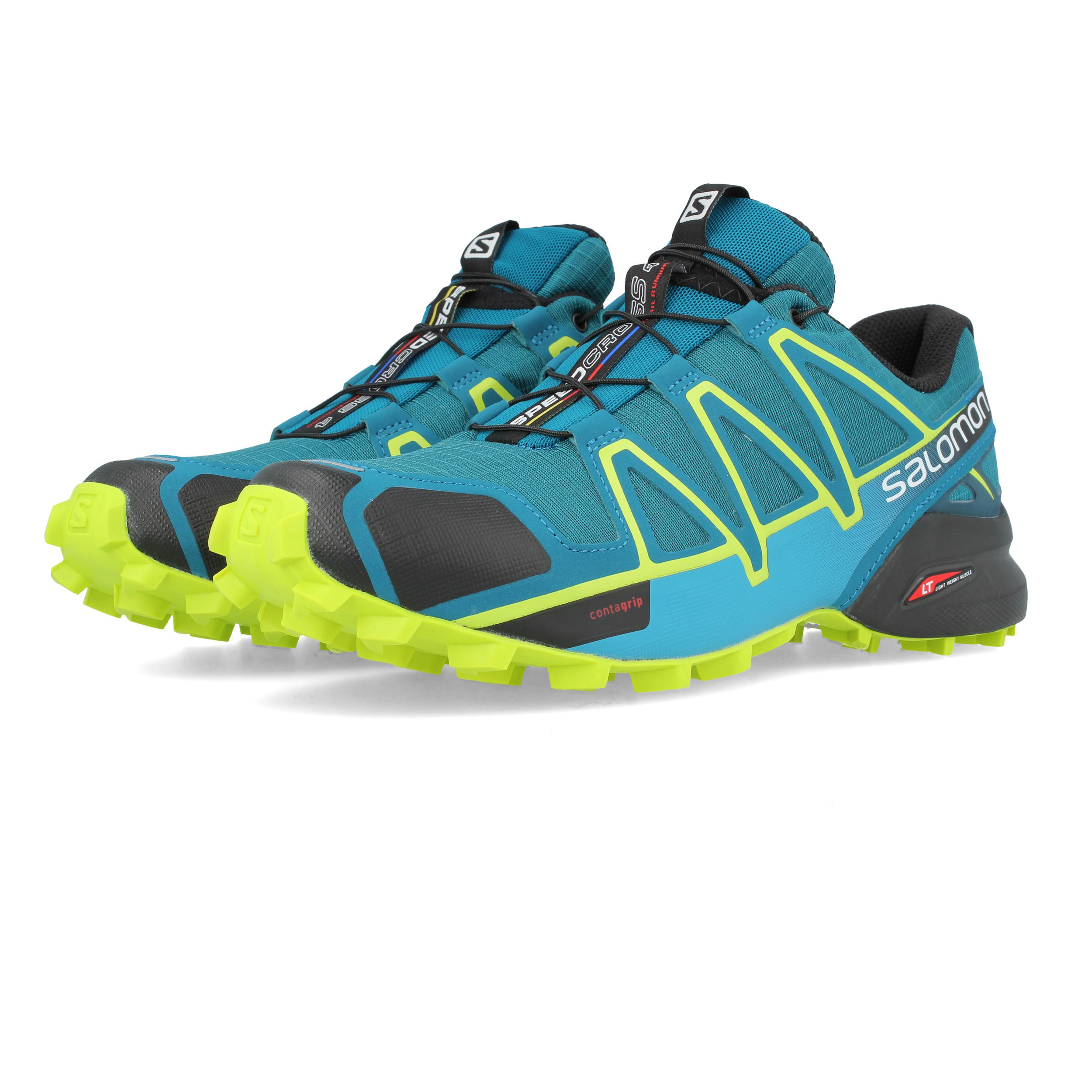 5da219b521d Details about Salomon Mens Speedcross 4 Trail Running Shoes Trainers  Sneakers Sport Blue Green