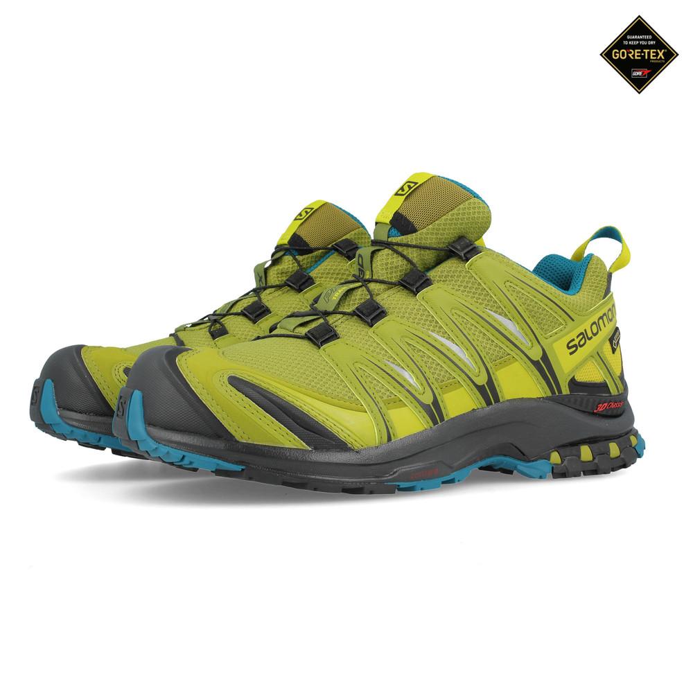 b42a50ee21c95 Salomon Hombre Xa Pro 3d Gtx Nocturne Sendero Correr Zapatos Zapatillas  Amarillo