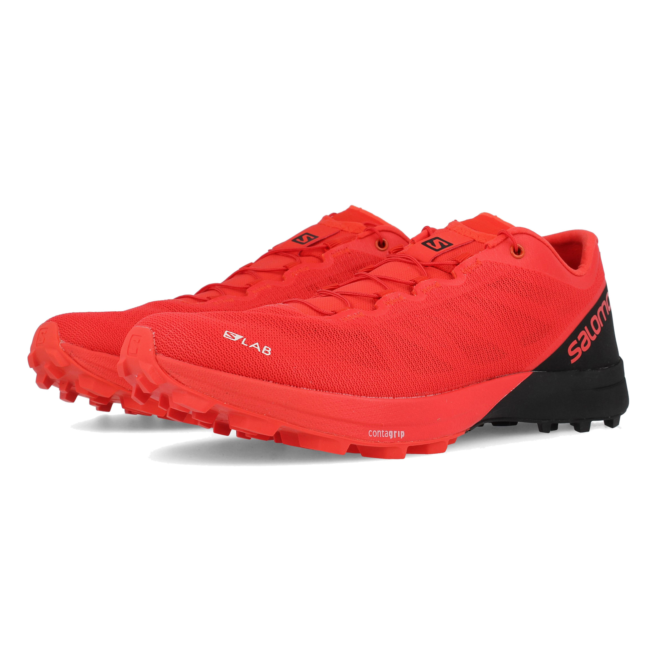 save off e4c99 e9927 Premium Wet Traction Contagrip which is a durable rubber compound that  covers the platform of the Salomon S LAB Sense 7. This outsole will prevent  the ...