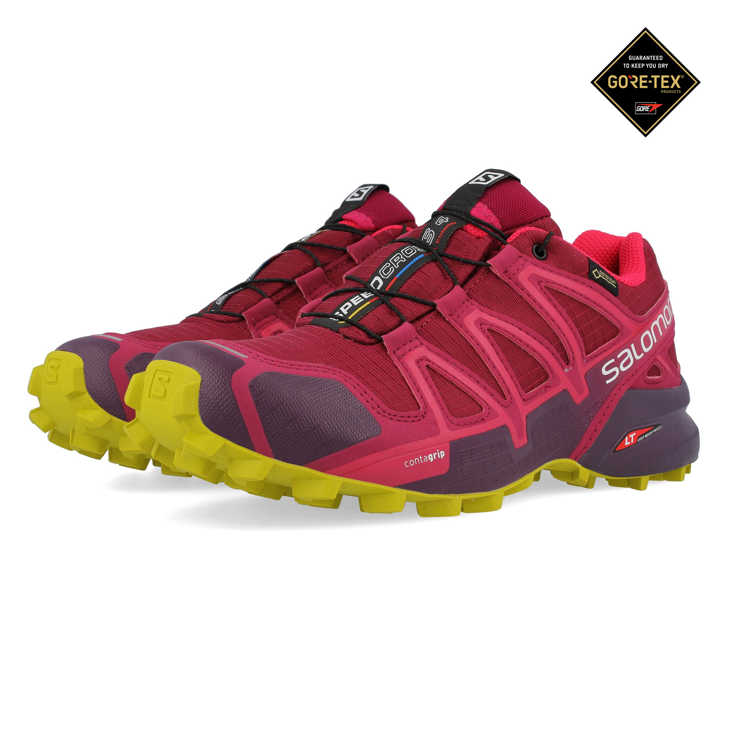 5aecfd8bab061 Details about Salomon Womens Speedcross 4 GORE-TEX Trail Running Shoes  Trainers Sneakers