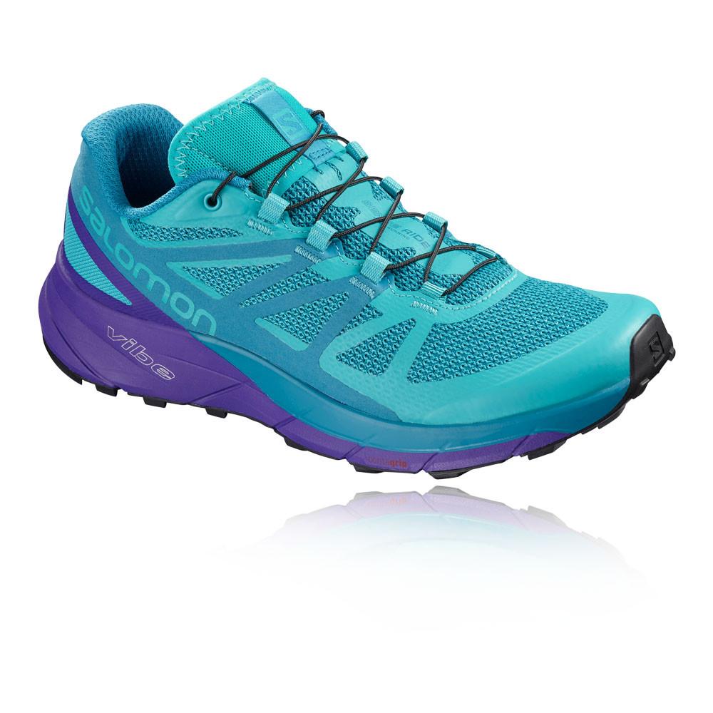 e505300278701 Salomon Sense Ride para mujer trail zapatillas de running - AW18 ...