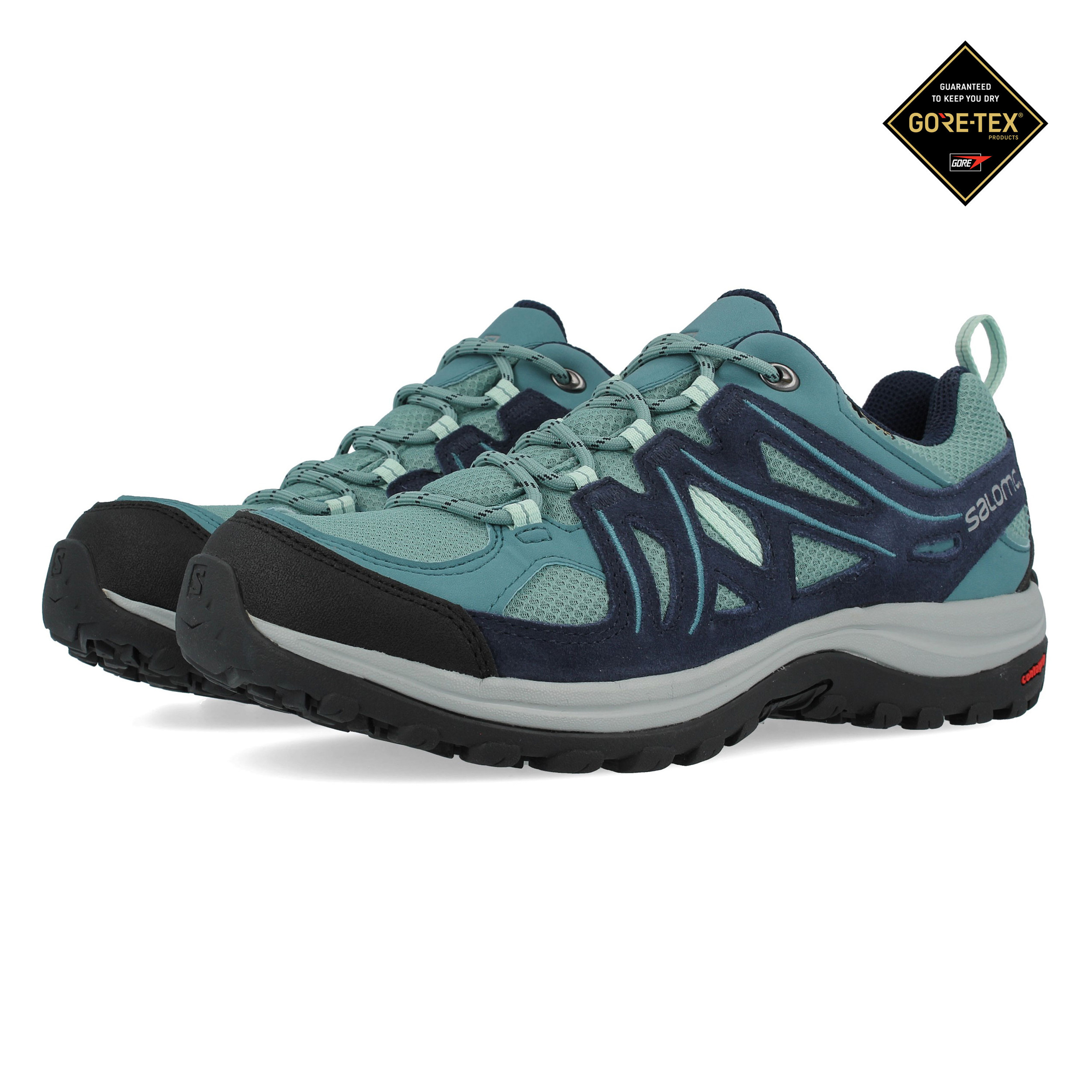 Salomon Ellipse Sport W Lady PurpleBlue Hiking Shoes