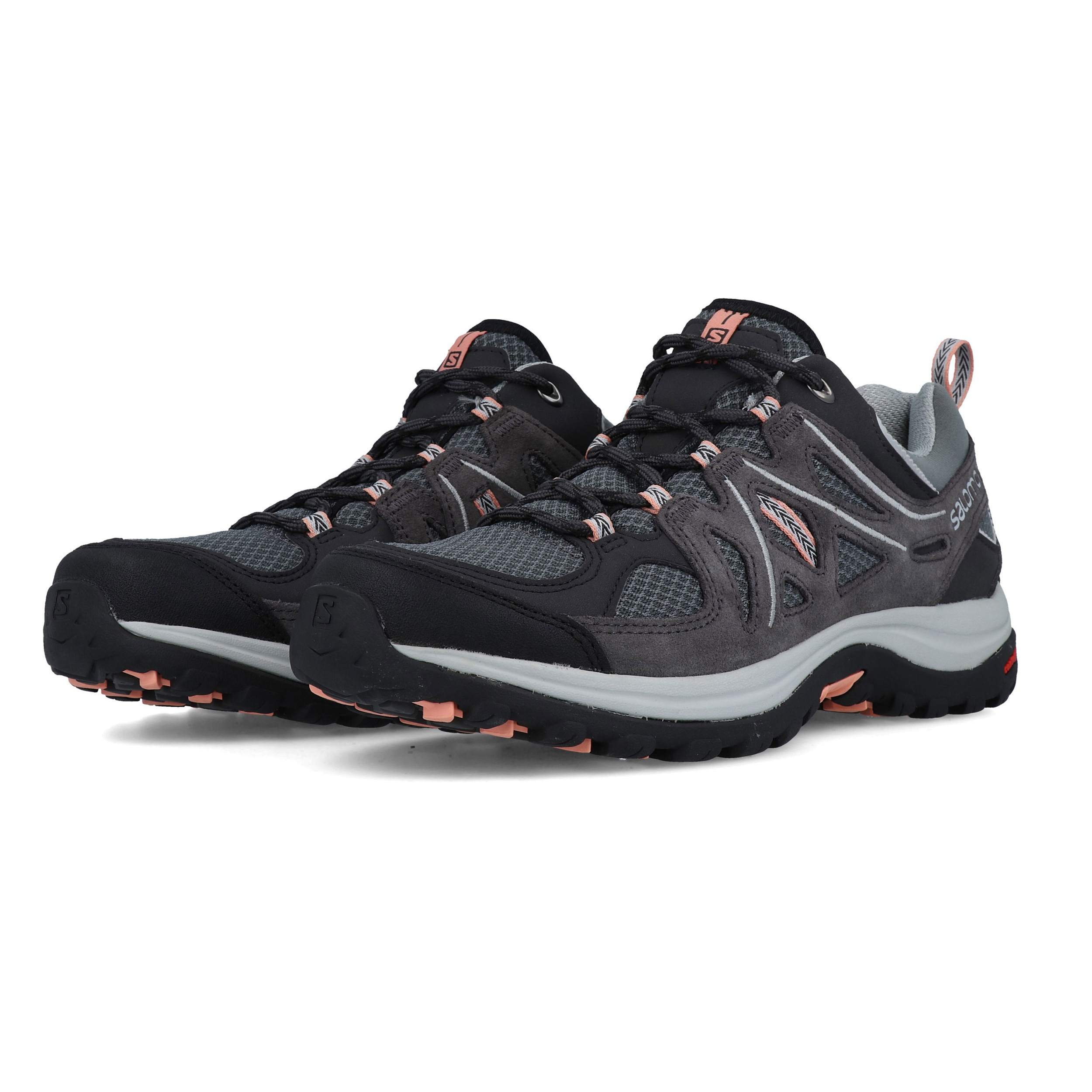 Shoes Ellipse 2 Salomon Walking Sports Breathable Womens Aero Grey PXTUZ
