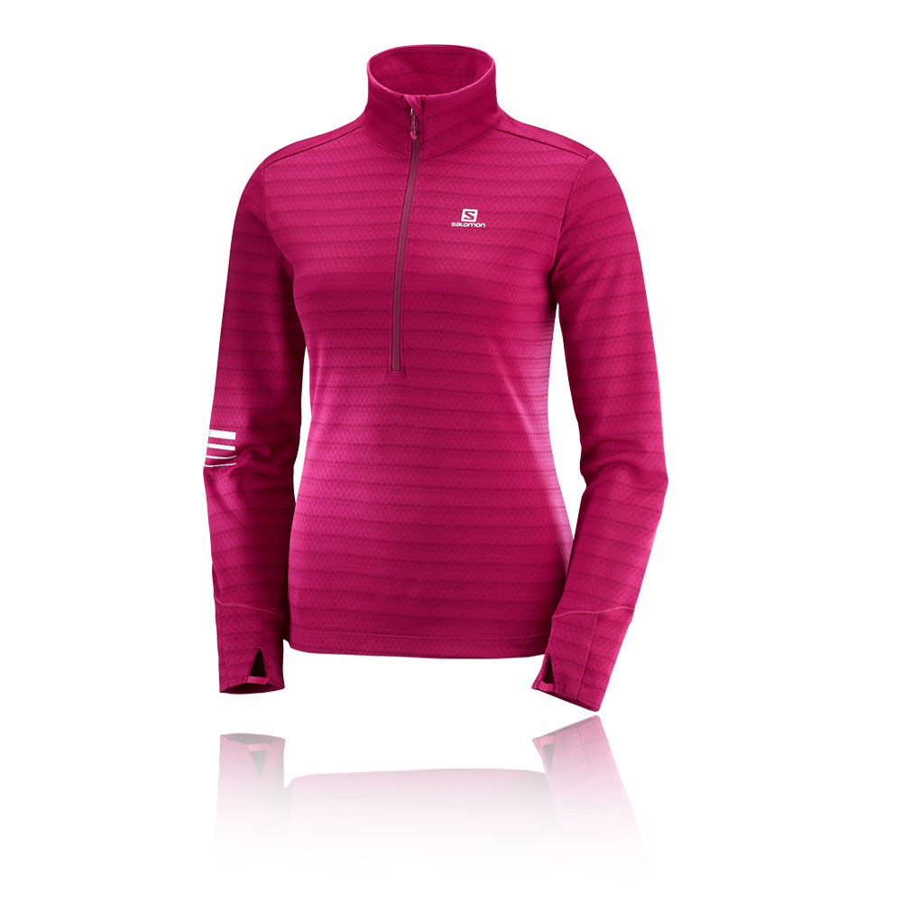 Salomon Lightning Mid Women's Half Zip Running Top