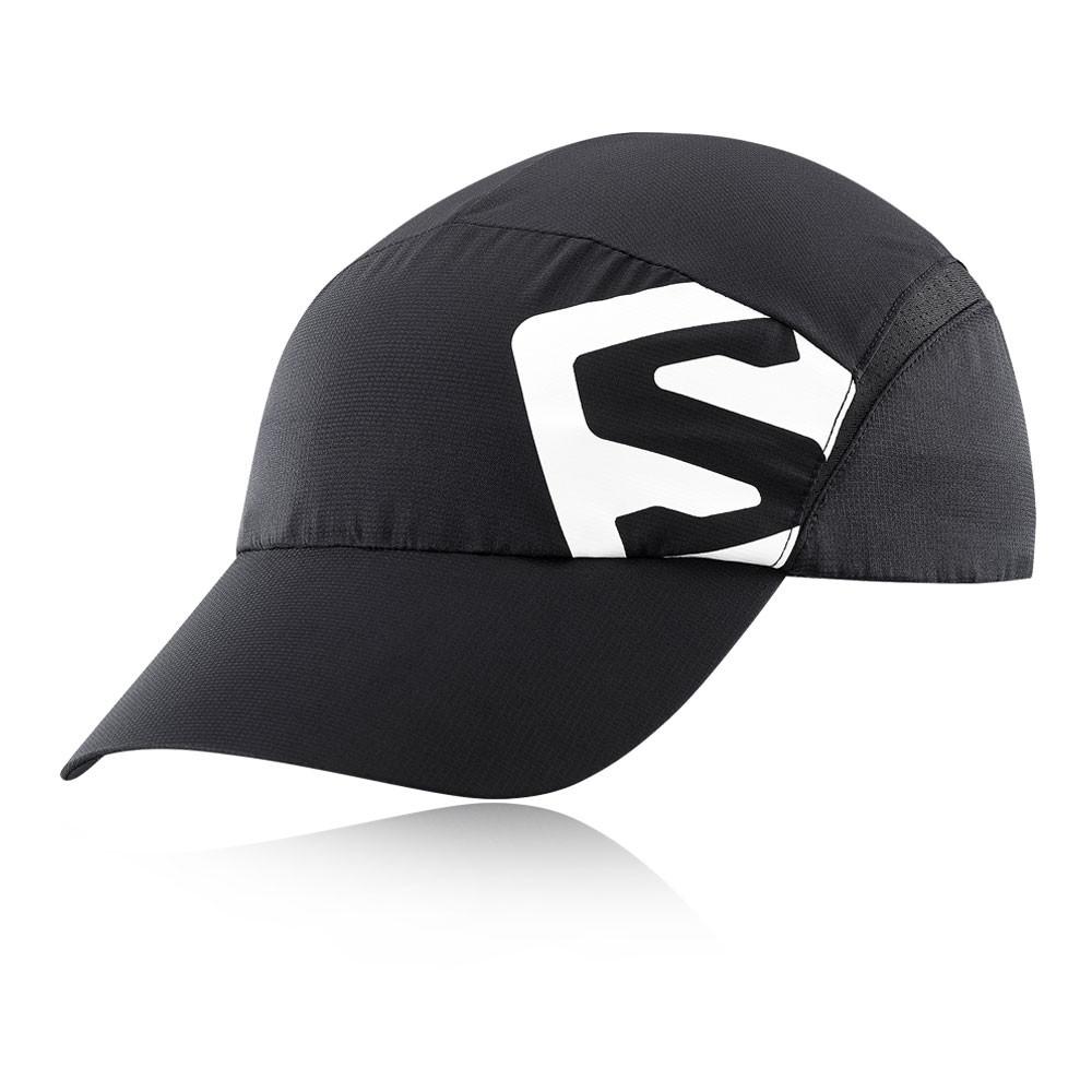 Details about Salomon Unisex XA Running Cap Black Sports Breathable  Lightweight 954efa746de