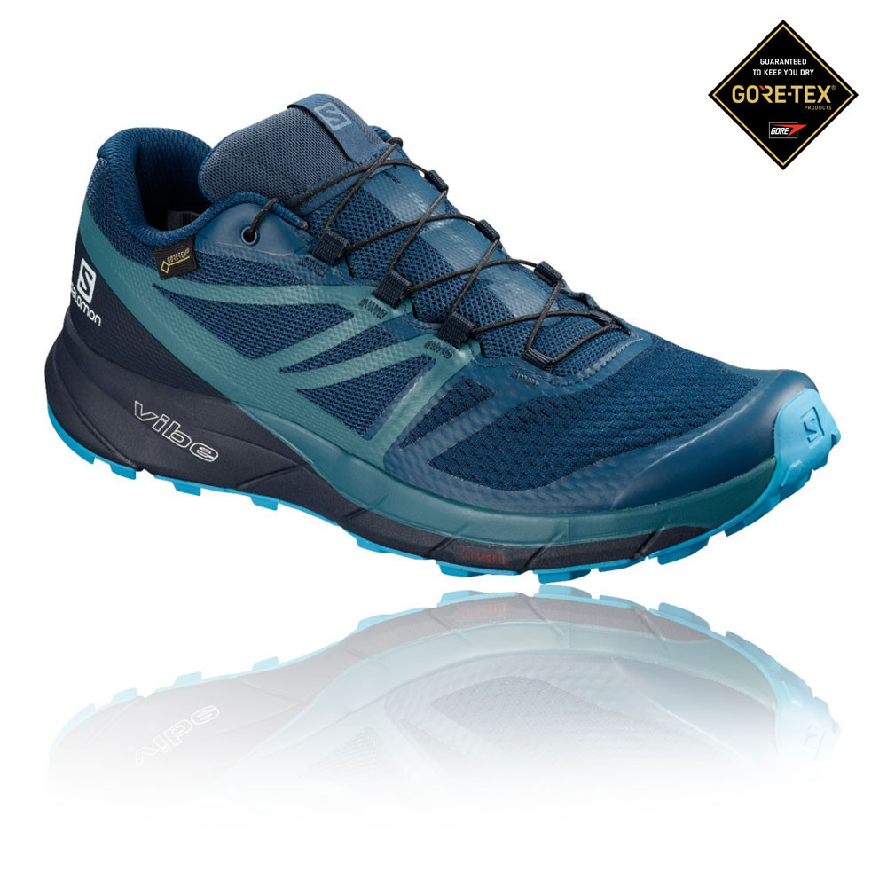 Salomon Sense Ride 2 GORE-TEX Invisible Fit Trail Running Shoes - AW19