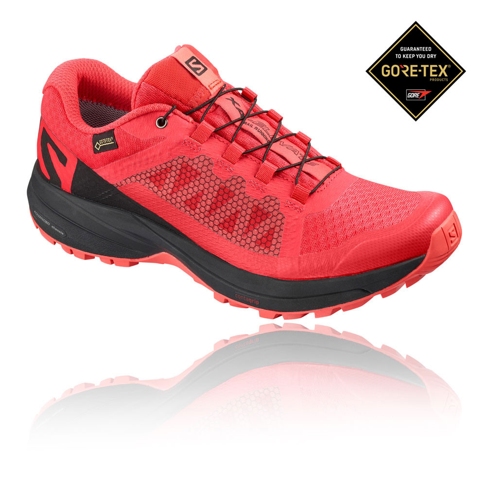 2a43c44d Details about Salomon Womens XA Elevate GORE-TEX Trail Running Shoes  Trainers Sneakers Red