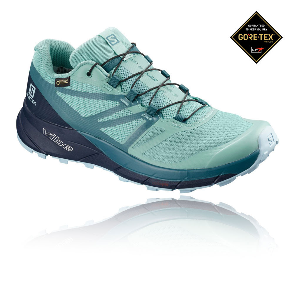 Salomon Sense Ride 2 GORE-TEX Invisible Fit Women's Trail Running Shoes - AW19