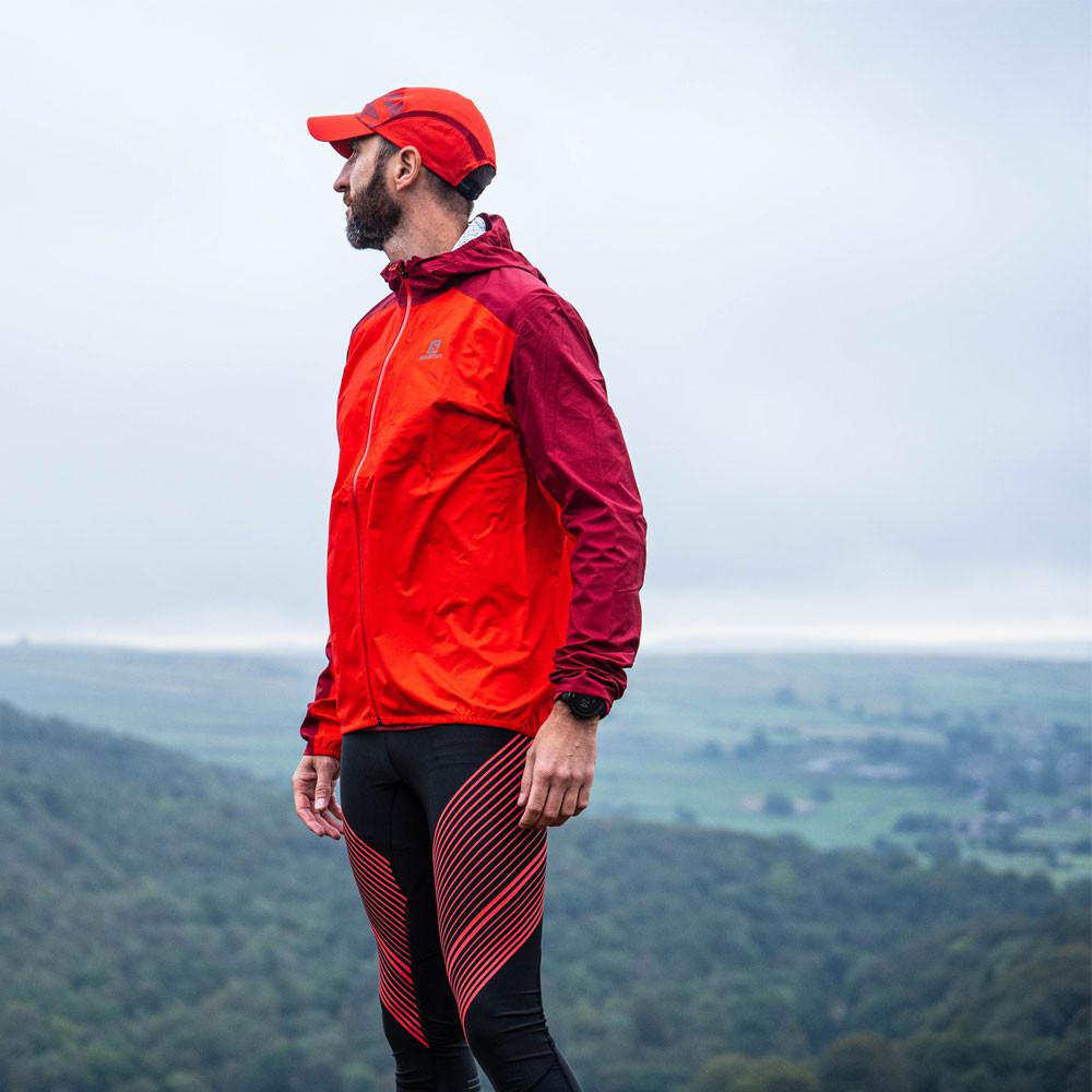 Salomon Bonatti Impermeabile giacca da corsa SS20