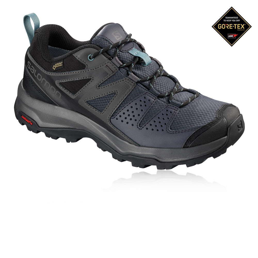 new products 24693 3ea21 Details zu Salomon Damen X Radiant GORE-TEX Schuhe Outdoorschuhe  Trekkingschuhe Marineblau