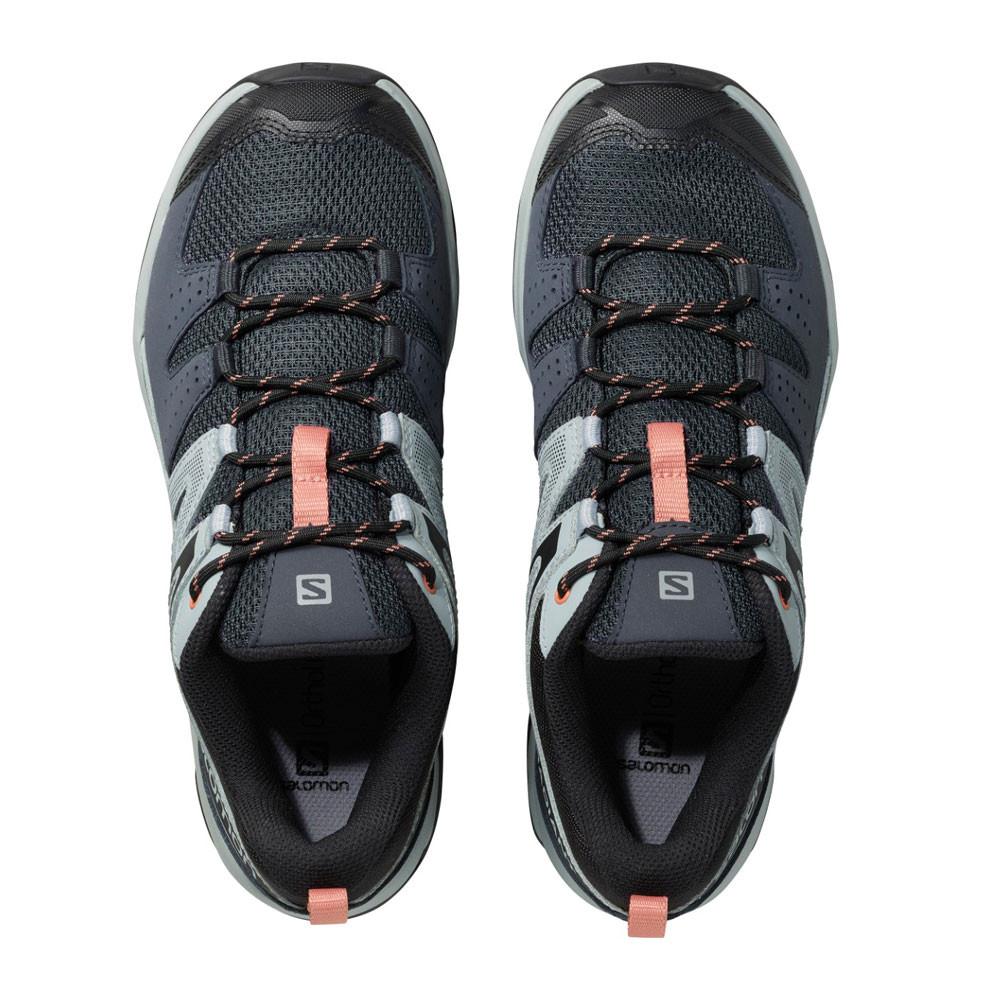 Détails sur Salomon Femmes X Radiant Chaussure De Marche Randonnée Gris Sport Extérieur