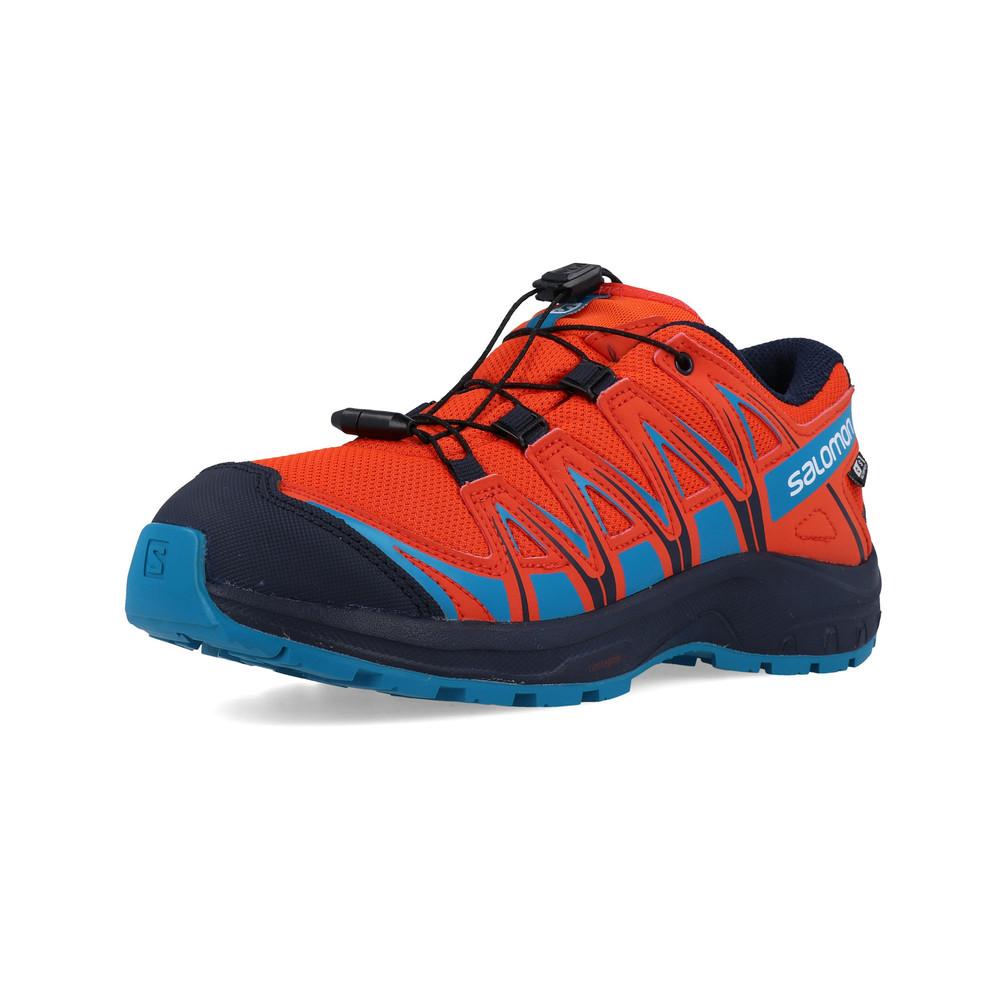 großer Rabattverkauf das billigste großartige Qualität Salomon XA Pro 3D CSWP Junior Trail Running Shoes - SS19