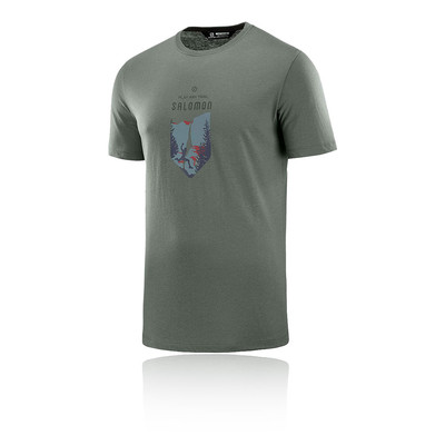 Salomon X ALP Graphic Short Sleeved T-Shirt - SS19