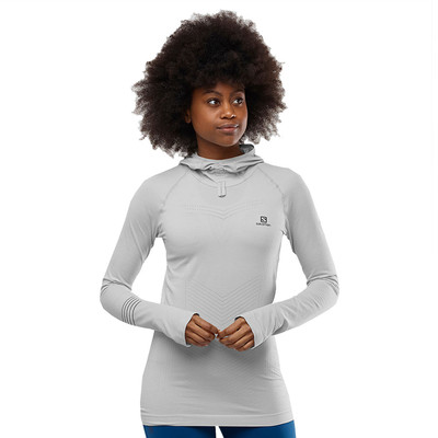 Salomon Lightning Pro Long Sleeve Women's Hoodie - AW19