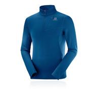 Montane Mens Dart Zip Neck Top Grey Sports Outdoors Half Breathable Lightweight