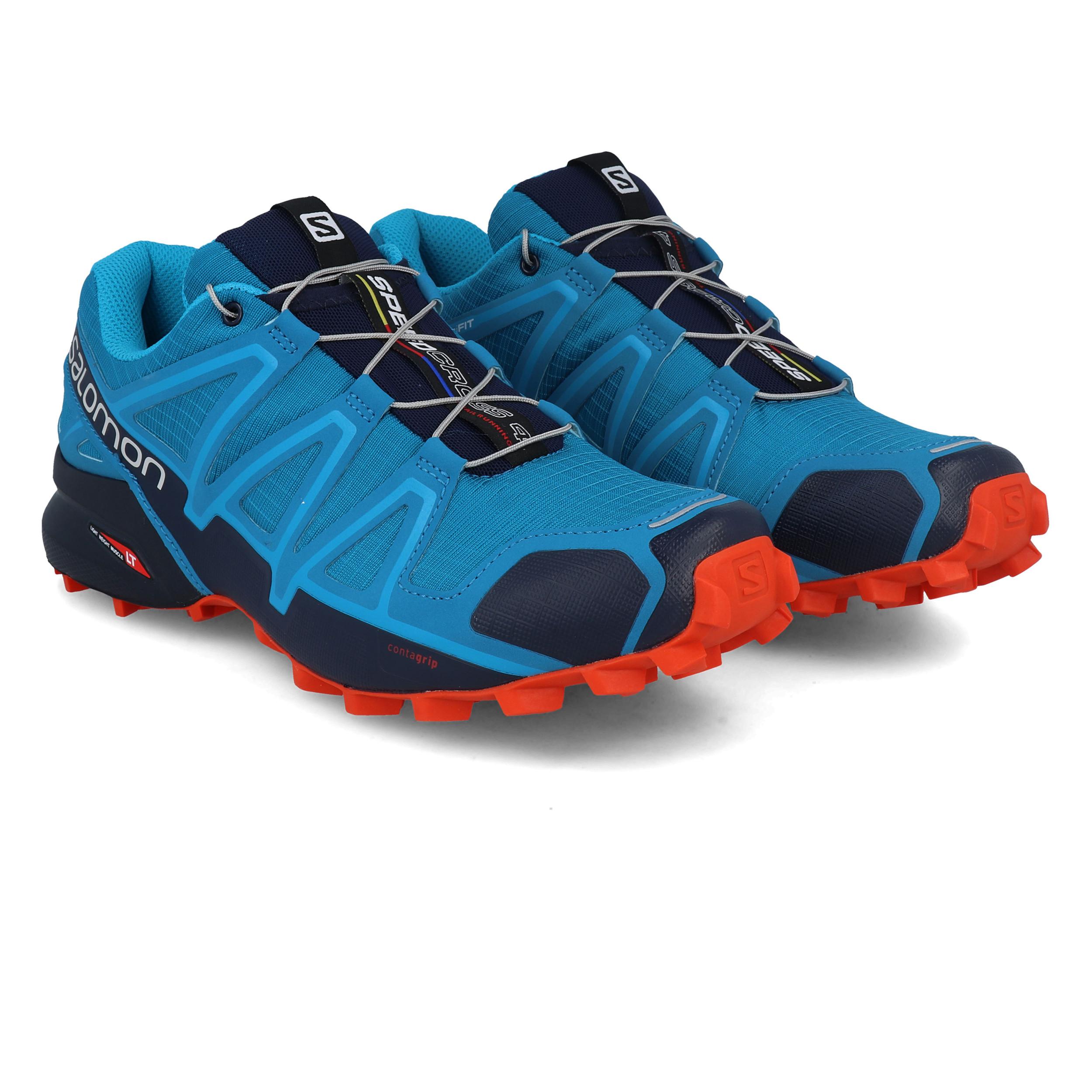Salomon Speedcross 4 Trail H - Bleu - Tailles : 42.2/3