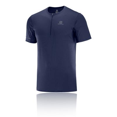 Salomon Agile Halb-Reißverschluss T-Shirt - SS20