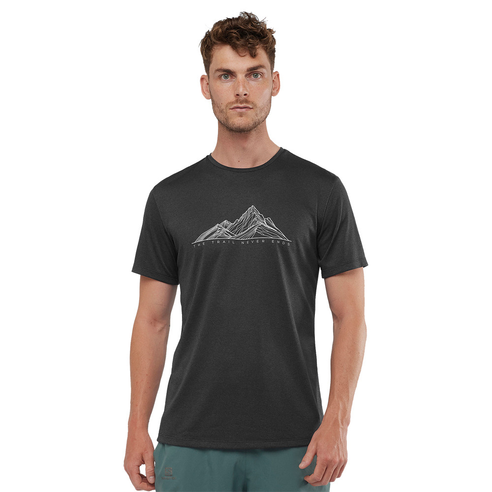 Salomon Agile Graphic Training T-Shirt - SS20