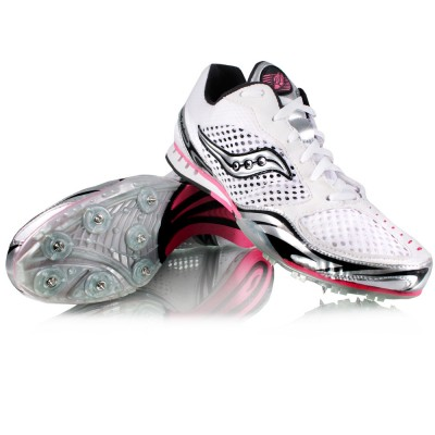 saucony lady velocity distance running spikes